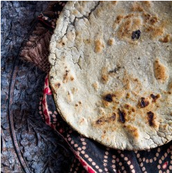 Gluten-Free Millet Flatbread by Indiaphile