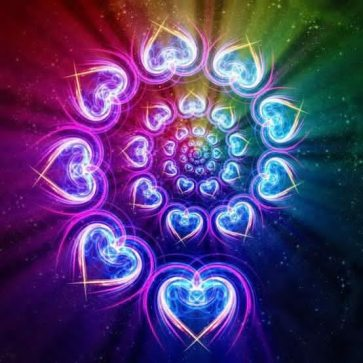 heart healing lights